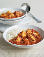 Spicy Cod & Tomato Curry