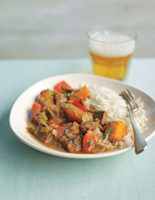 Beef, Red Pepper & Squash Curry