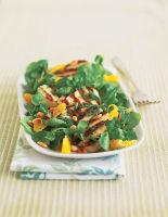Haloumi, Orange & Mint Salad
