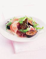 Balsamic Figs with Parma Ham