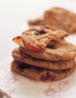 Chunky Cherry Fudge Cookies