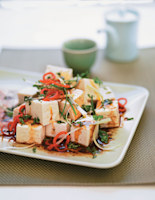 Soy Tofu Salad with Coriander