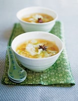 Winter Cabbage & Ginger Soup
