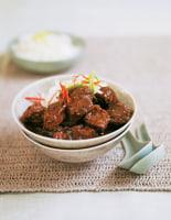 Hoisin Pork, Rice & Greens