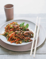 Spiced Duck & Cabbage Stir-Fry