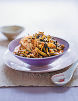Noodles with Preserved Cabbage