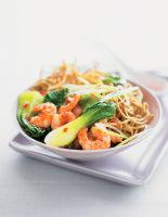 Noodles with Prawns & Pak Choi