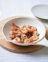 Seared Chilli & Garlic Prawns