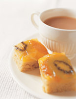 Mango & Kiwi Upside Down Cakes