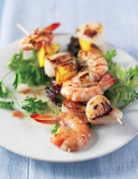 Scallops with Citrus Dressing