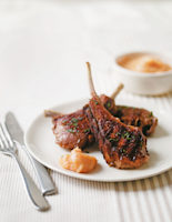 Lamb Cutlets with Quince Aioli