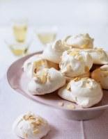 Almond & Lemon Meringues