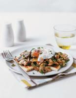 Potato Farls with Mushrooms