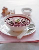Beetroot & Horseradish Soup