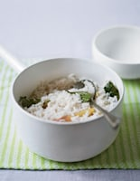 Ginger, Coconut & Lime Leaf Rice