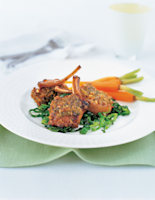 Lamb Cutlets with Herbed Crust