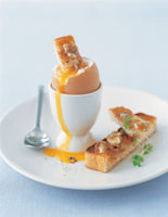 Boiled Egg with Mustard Soldiers