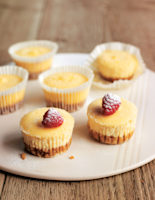 Baked New York Cheesecakes
