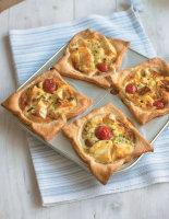 Mini Brie and Tomato Quiches