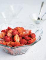 Balsamic and Black Pepper Strawberries