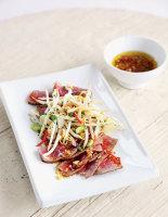 Asian-Spiced Beef Carpaccio