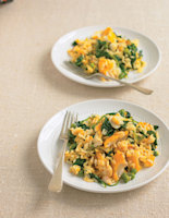 Kedgeree-Style Rice with Spinach