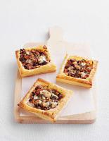 Onion, Walnut & Blue Cheese Tarts