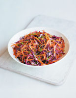 Spiced Red Cabbage and Carrot Salad