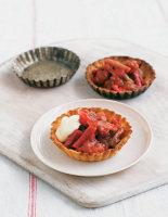 Rhubarb and Ginger Tartlets