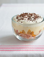 Almost Instant Peach Trifle