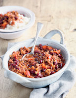 Beef and Lentil Chilli