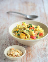 Red Pepper and Coconut Curry