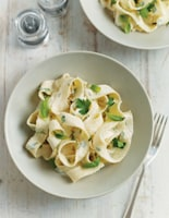 Herby Goats' Cheese Pasta