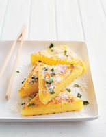 Chargrilled Polenta Triangles