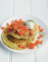 Spring Onion, Dill and Chive Pancakes