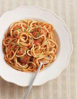 Spaghetti with Mini Tuna Balls