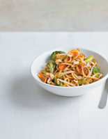 Vegetable Noodles with Stir-Fry Sauce