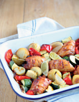 Spiced Roast Chicken with Lime