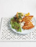 Turkey Milanese with Aioli and Garlic Bread