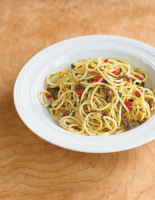 Chilli and Anchovy Dressed Pasta
