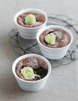 Chocolate Mousse with Pistachio Ice Cream