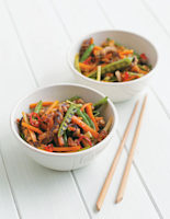 Crispy Chilli Beef with Vegetables