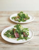Peppered Tuna with Rocket and Parmesan
