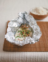 Steamed Sea Bream with Asian Flavours