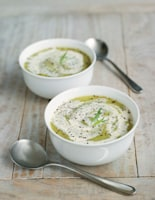 Lettuce, Pea and Tarragon Soup
