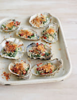 Crispy Bacon Oysters