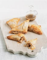 Pear Samosas with Ginger Sauce