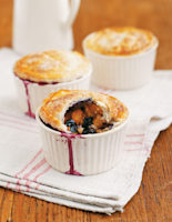 Blueberry and Mandarin Puffs
