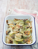 Baked Fennel and Gorgonzola