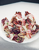 Grilled Radicchio with Pancetta